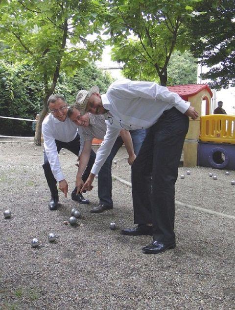 Pierwszy Turniej Gry w Bule Stowarzyszenia Francja-Polska, 14 lipca 2012