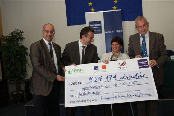 Konferencja Prasowa 13 lipca 2009 – podsumowanie akcji Francuskie Firmy Polskim Dzieciom