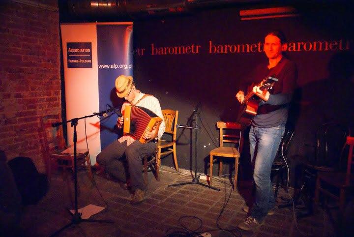 Koncert francuskiej muzyki tradycyjnej i potańcówka – Barometr, 12 marca