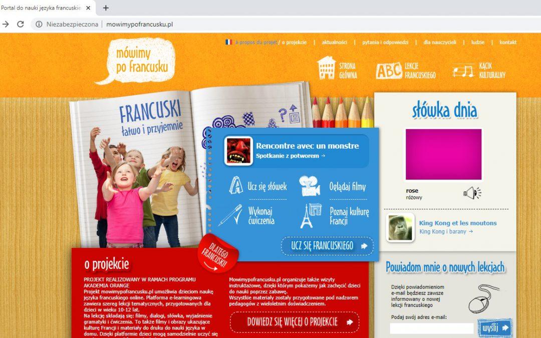 300 000 użytkowników odwiedziło portal www.MowimyPoFrancusku.pl