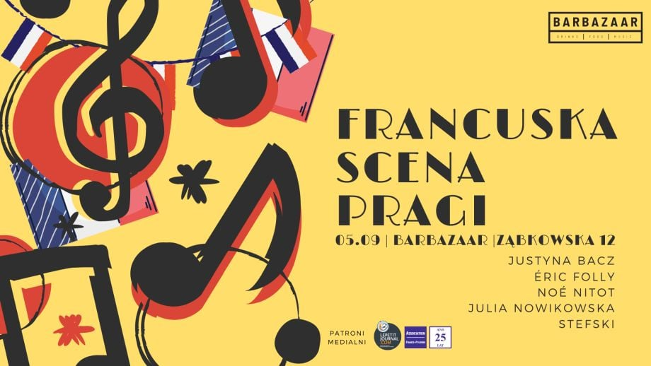 FRANCUSKA SCENA PRAGI – KONCERT 05.09, BARBAZAAR
