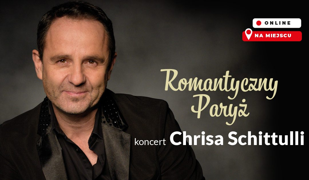 Koncert Chrisa Schittulli na dachu promu kultury praga-południe 17 lipca